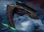Dhelan class Romulan Type 2 Brown