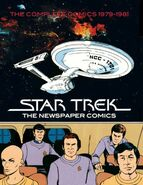 Star Trek Newspaper Strip Vol 1 cover