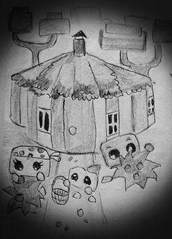 House in the forest - домик в лесу.jpg