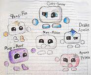 Some characters - Некоторые персонажи