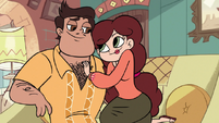 S1E9 Mr. and Mrs. Diaz flirting with each other