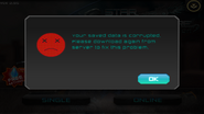 Star Warfare 1 - Sava Data Is Corrupted Error Message