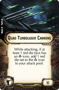 Quad Turbolaser Cannons