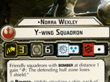 Norra Wexley Y-wing Squadron