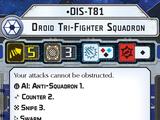 DIS-T81 Droid Tri-fighter Squadron