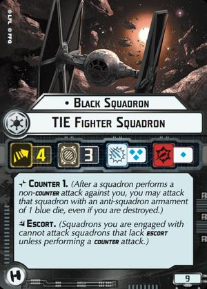 Black Squadron TIE Fighter Squadron