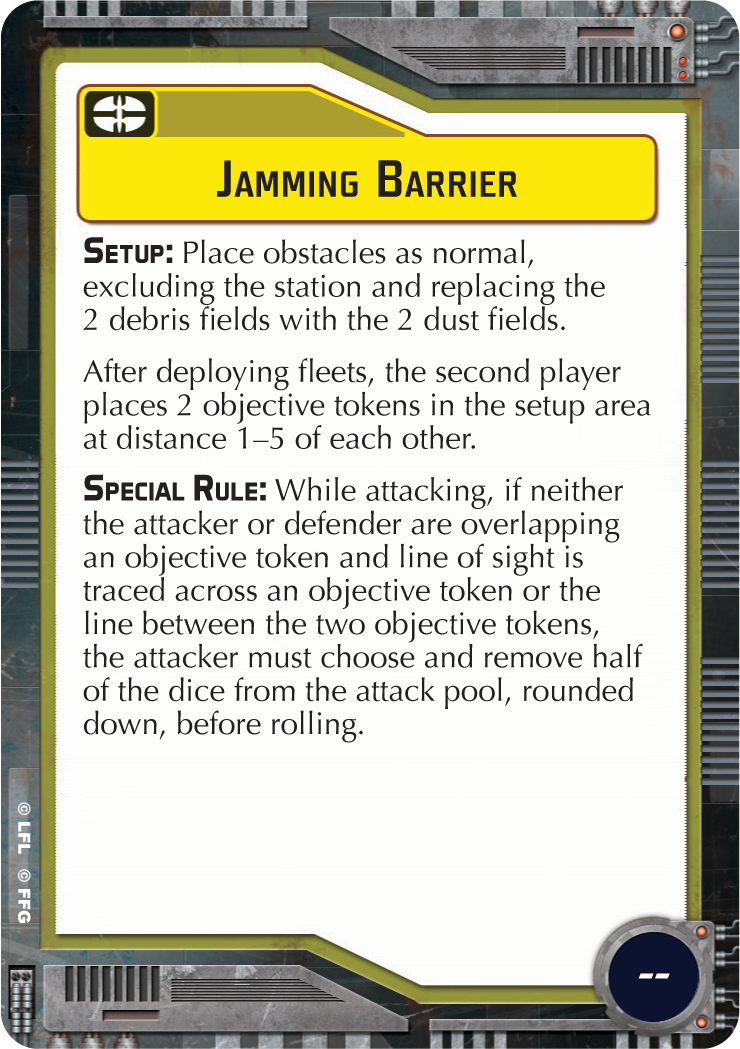 Jamming Barrier
