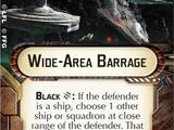 Wide-Area Barrage