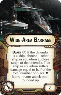 Wide-Area Barrage