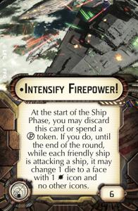 Intensify Firepower!