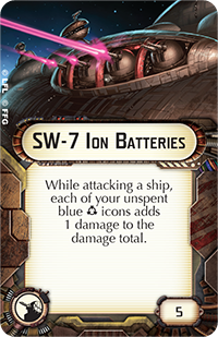 SW-7 Ion Batteries