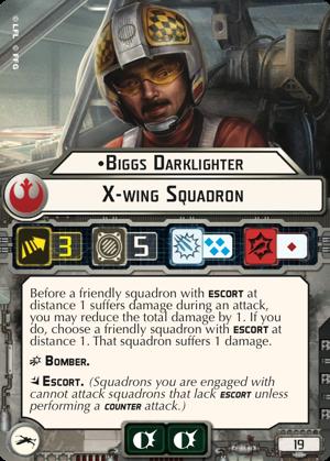 Biggs Darklighter X-wing Squadron