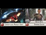 """How-to use Squadron """"Lancer class Pursuit Craft"""" (and Uniques) - Star Wars Armada Explained (SWAE)"""