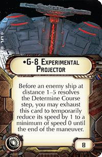 G-8 Experimental Projector