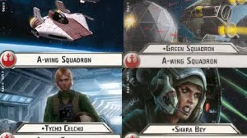 Shara Bey A-wing Squadron