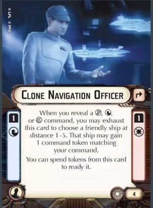 Clone Navigation Officer