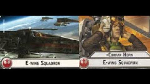 Corran Horn E-wing Squadron