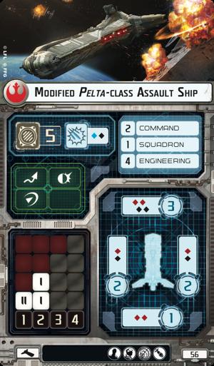Modified Pelta-class Assault Ship