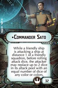 Commander Sato