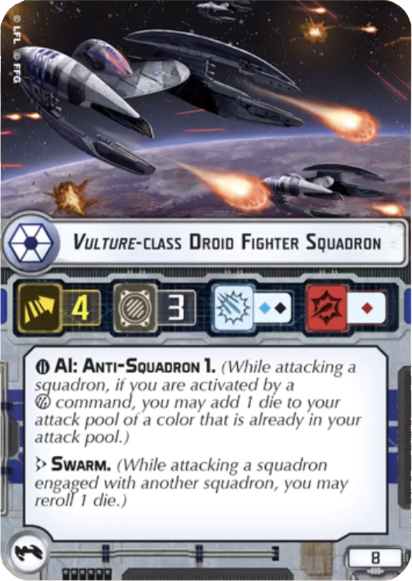 Vulture-class Droid Fighter Squadron