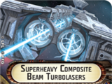 Superheavy Composite Beam Turbolasers