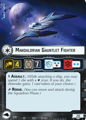 Mandalorian Gauntlet Fighter