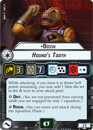Bossk Hound's Tooth