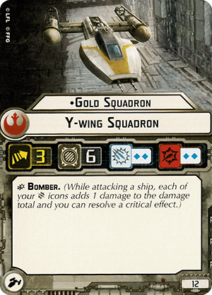 Gold Squadron Y-wing Squadron