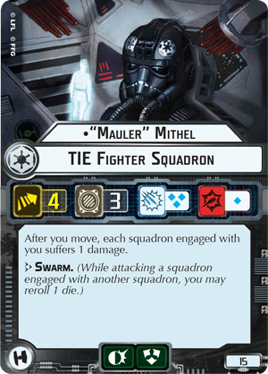 """Mauler"" Mithel TIE Fighter Squadron"