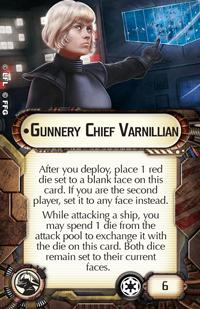 Gunnery Chief Varnillian