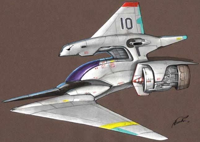 Ra-class Scout Fighter