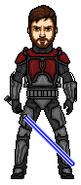 Obi-Wan Kenobi in Death Watch Armor