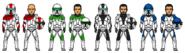 Aiwha Squad - Sarge, Di'kut, Tyto and Zag by PrincessJ420