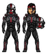 Sgt. Hunter - Clone Force 99 (The Bad Batch) by PrincessJ420