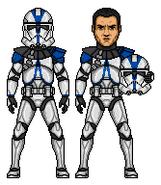 Commander Appo CC-1119 - 501st Legion (Clone Wars)
