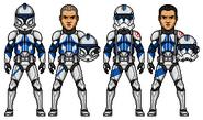 Clone Medic Kix by PrincessJ420