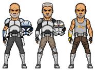 Star Wars Rebels - Rex, Wolffe and Gregor