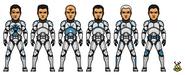 Tango Company - Lt. Trap, Sgt. Pulsar, Scythe, Havoc, Edge and Ox (S2 EP8 - Brain Invaders)
