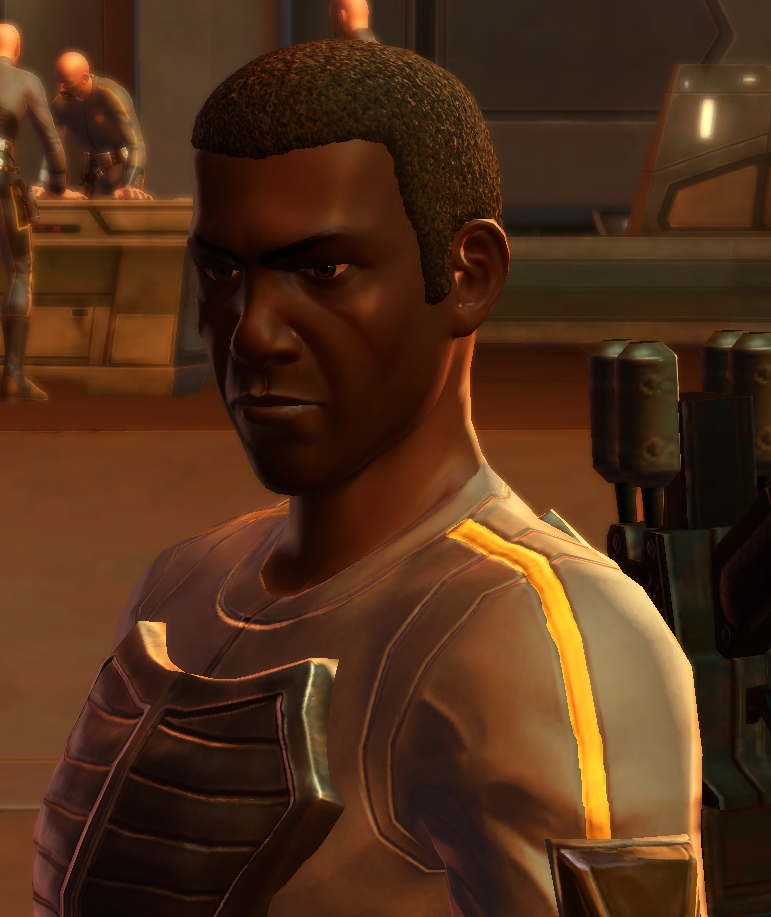 Unidentified Coruscant Security corporal