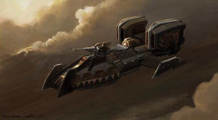 WLO-5 Speeder Tank