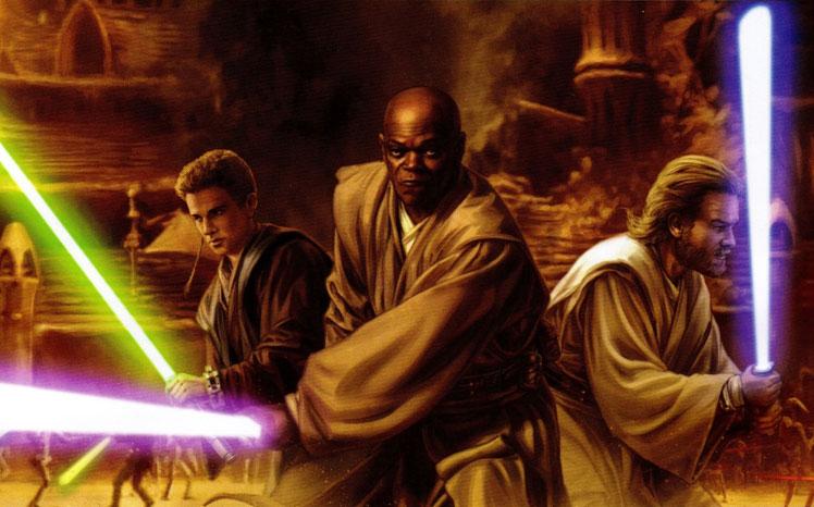 Jedi on Geonosis by Trevas.jpg
