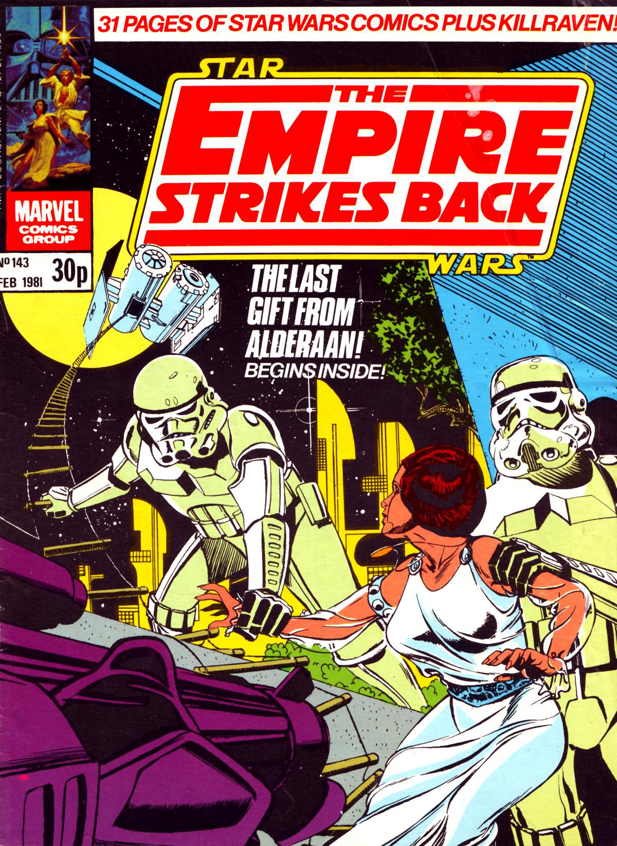 The Empire Strikes Back Monthly 143