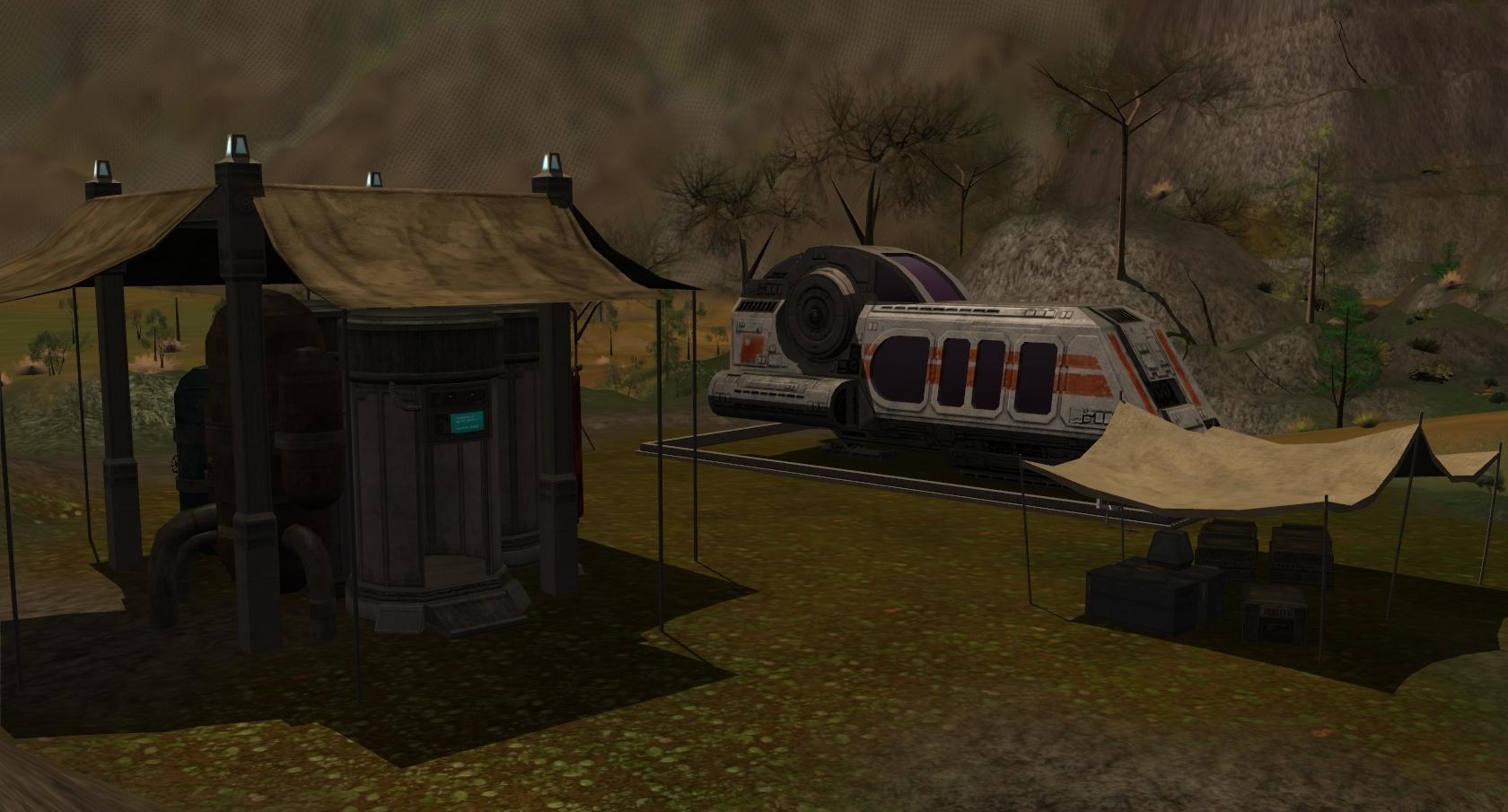 Rebel Forward Base Camp (Talus)