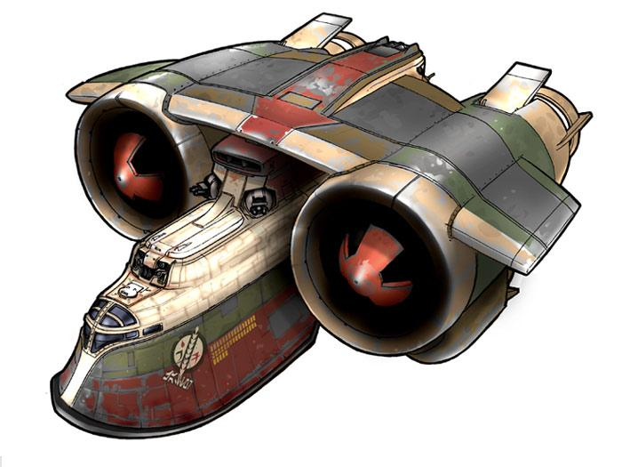 Amphibious Interstellar Assault Transport/infantry