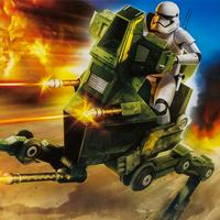 Assault Walker First Order Stormtrooper Officer STAR WARS The Force Awakens EXCL