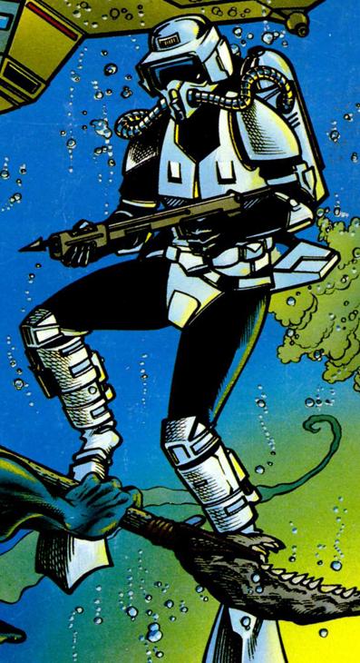 Aquatic assault stormtrooper