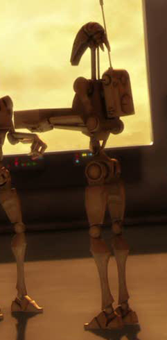 631 Model B1 Battle Droid