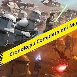 Cronologia degli Episodi di Star Wars The Clone Wars