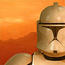 Clone Wars Painting (clone trooper)