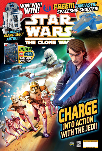Star Wars: The Clone Wars Comic UK 6.34